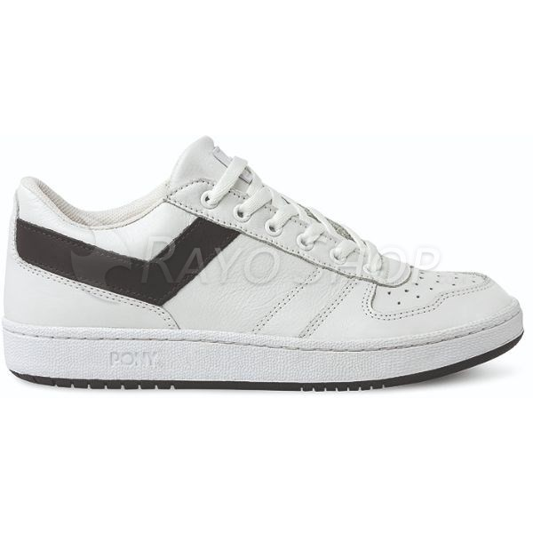 Zapatillas Pony City Wings ox Leather Blanco/Negro