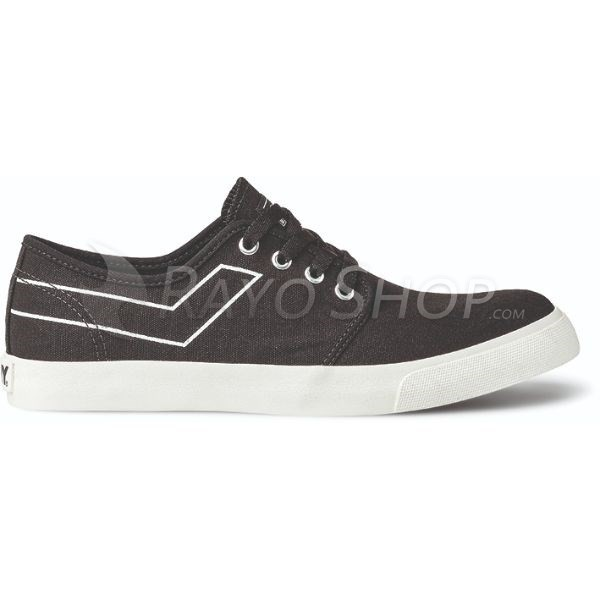 Zapatillas Pony West ox Canvas Negro