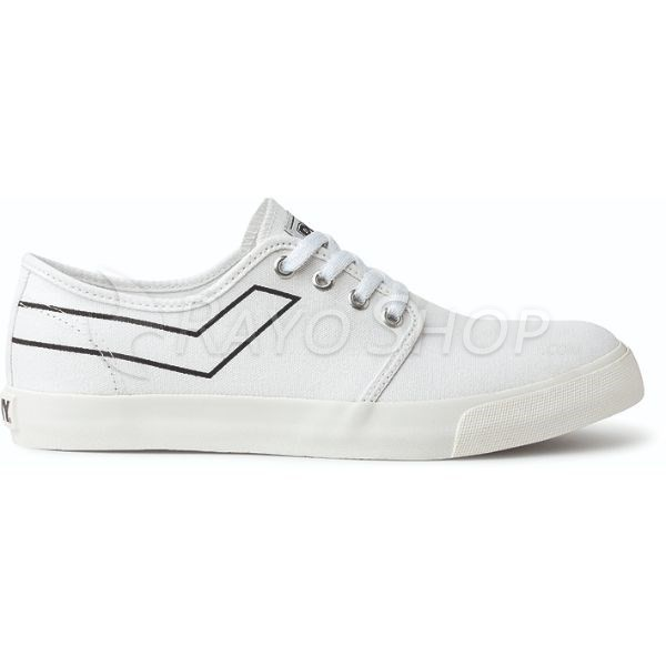 Zapatillas Pony West ox Canvas Blanco