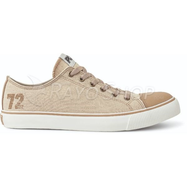 Zapatillas Pony Since 72 ox Canvas Color Natural