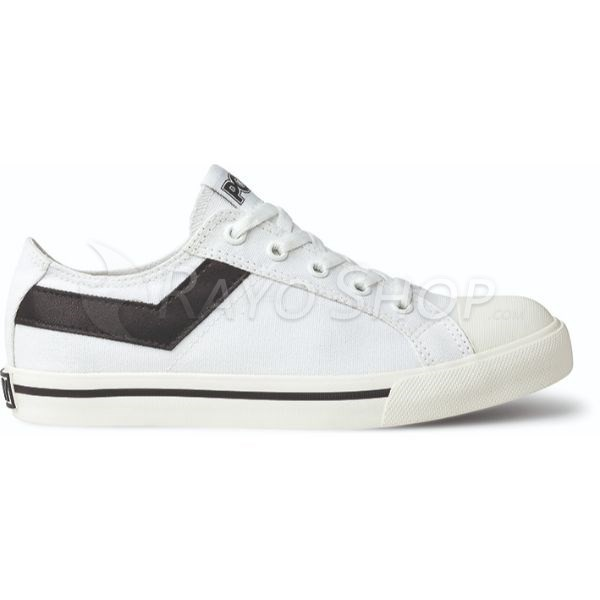 Zapatillas Pony Shotter ox Canvas Unisex Blanco/Negro