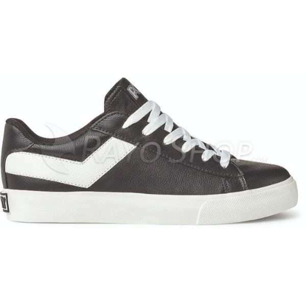Zapatillas Pony Topstar ox New Pele Unisex Negro