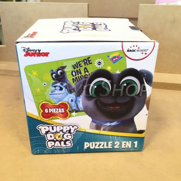 PUPPY DOG PALS - PUZZLE 2 EN 1