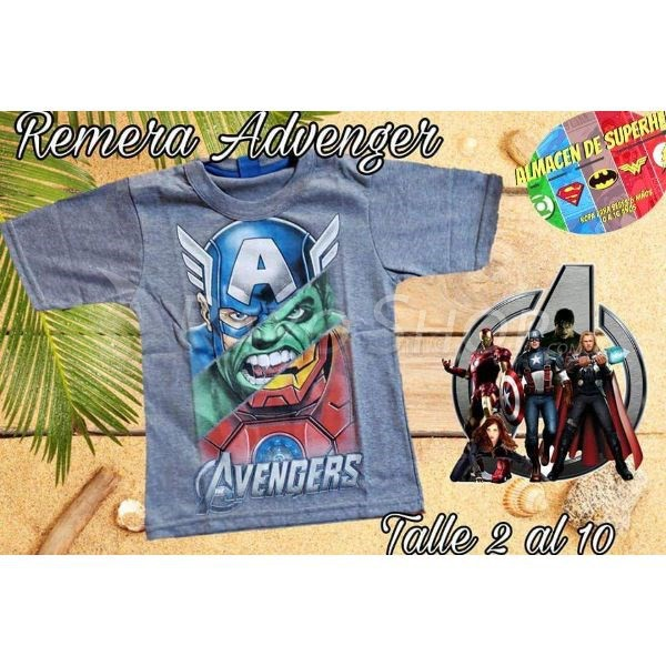REMERA INFANTIL ADVENGER